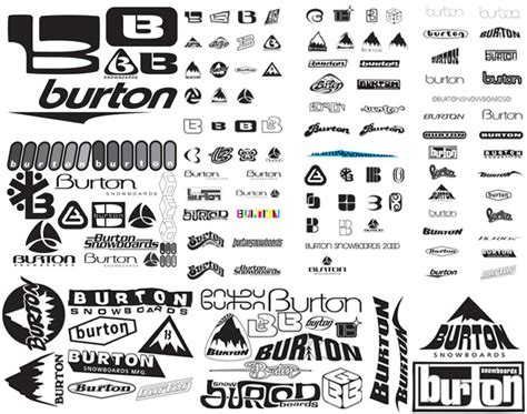 %name business card logo   How Burton Snowboards Logo Reinforced Their Business   Printwand?