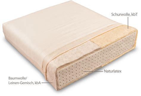 matratze rund mattress for children with and cotton linen