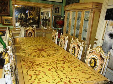 comedor de palacio completo mesa  sillas  vendido