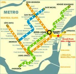 montreal canada metro map montreal s metro subway system