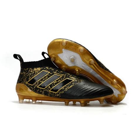 paul pogba new 2017 adidas ace 17 purecontrol fg soccer cleats black gold