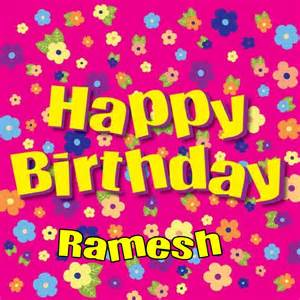Happy Birthday Ramesh happy birthday cake on birthday cakes with wishes and candles