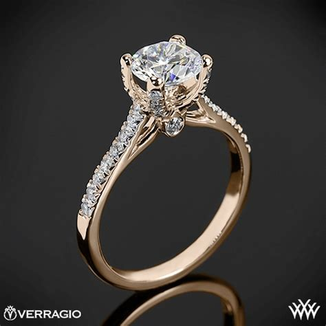 Things To Learn About Diamonds From Loosediamondsreviews by Verragio 4 Prong Pave Engagement Ring 1939