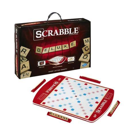hasbro gaming scrabble jual hasbro scrabble deluxe crossword mainan anak