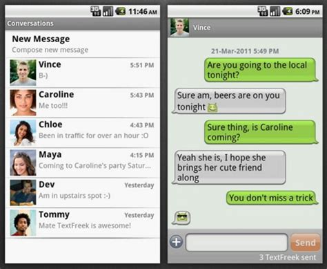 android texting apps top best free texting apps for android technobezz