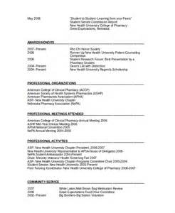 Pharmacists Resume by Pharmacy Resume Sainde Org