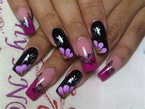 latest beautiful french nails art design nail art and