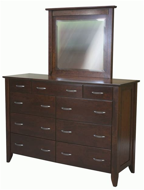 Country Mission Mule Dresser Mirror - mule chests amish furniture by brandenberry amish furniture