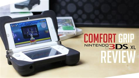 dreamgear 3ds xl comfort grip review 3ds xl comfort grip review und unboxing youtube