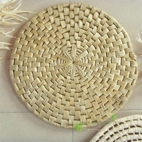 Buy Wholesale Woven Placemats From by Cheap Corn Husk Wholesale Dining Table Decorative Straw