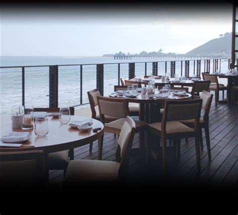 Restaurants On Pch Malibu - rehearsal lunch in malibu w ocean view restaurants