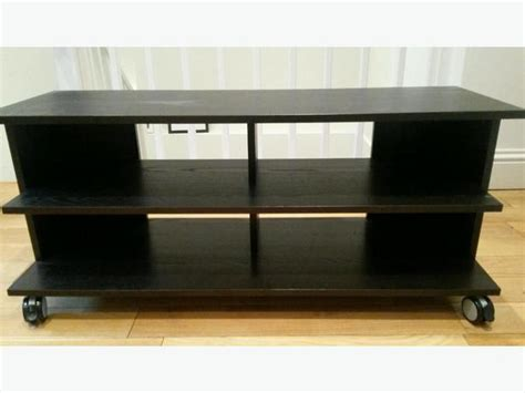 black ikea benno tv stand on wheels victoria city victoria