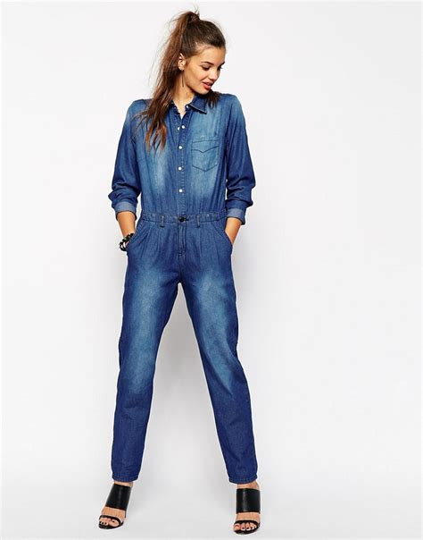 Jumpsuit Denim Katrine Terlengkap can you much of a thing does my bum look 40 in this