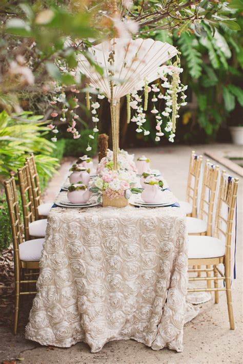 bridal shower tablescape ideas decorate for a