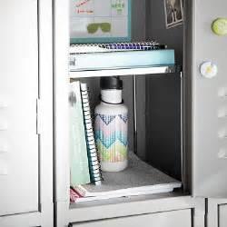 gear up silver locker shelf potterybarnteen locker