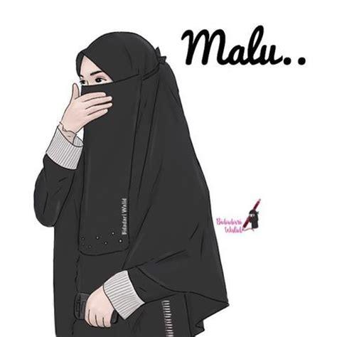 gambar anime kartun bercadar gambar kartun muslimah bercadar melestarikan malu muslim