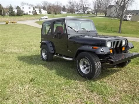 Jeep Wrangler Paint 1991 Jeep Wrangler New Brakes Lines Front Calipers New