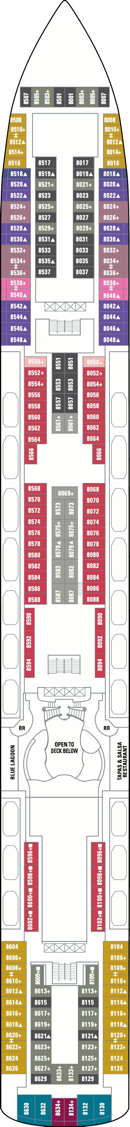 norwegian jewel floor plan norwegian jewel deck plans