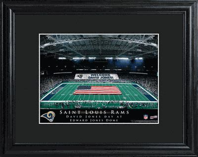 st louis rams gifts personalized st louis rams stadium print football gifts