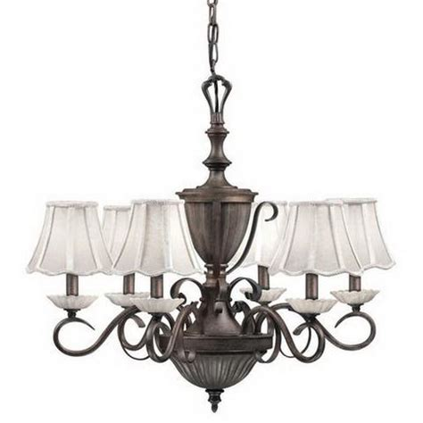 Discount Kichler Lighting Kichler Lighting 34175 Six Light Chandelier In Bronze Finish Quality Discount Lighting