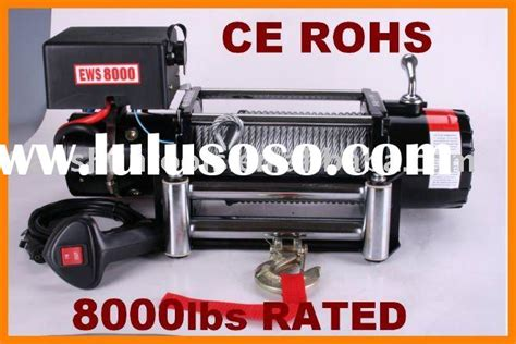 Winch Bull4x4 8000 Lbs 12 Volt 4 Ton warn winch 12v electric winch 10000lb for sale price