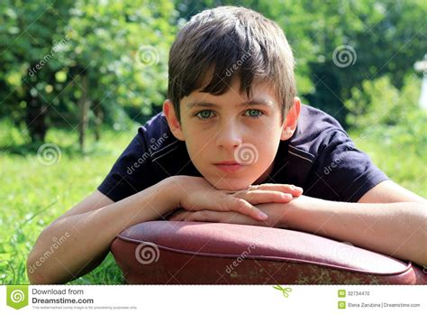 preteen bys young serious boy pre teen stock photo image 32734470