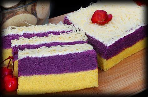 loyang kue lapis talas khas bogor lapis talas bogor sangkuriang bolu talas lembut khas bogor