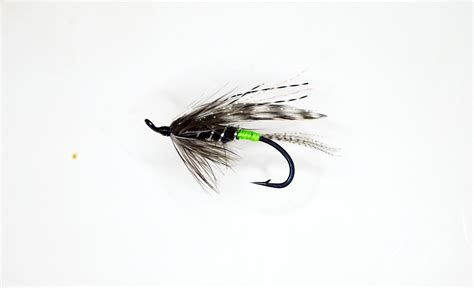 steelhead flies for swinging sierra fly company green butt hilton