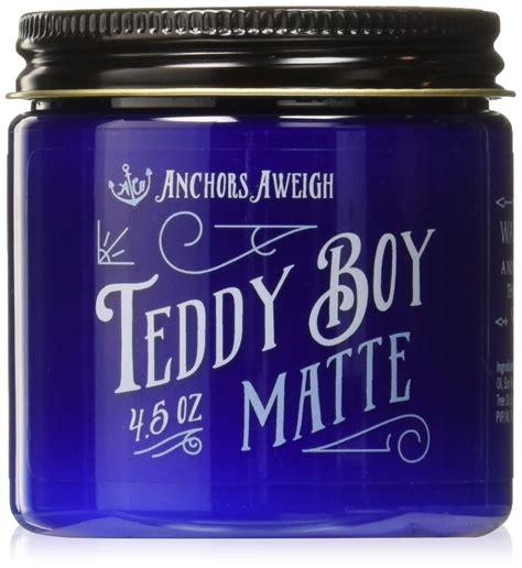 Teddy Boy Original 4 5oz anchors hair company teddy boy original water based styling pomade 2 5 oz