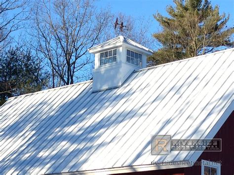 Cupola Roof Cupola With Standing Seam Galvalume Plus Metal Roof