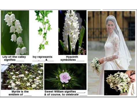 Wedding Bouquet Of Kate Middleton by Statistics Kate Middleton S Wedding Bouquet