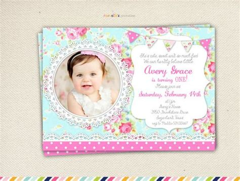 Shaby Mikhayla shabby chic birthday invitation birthday shabby