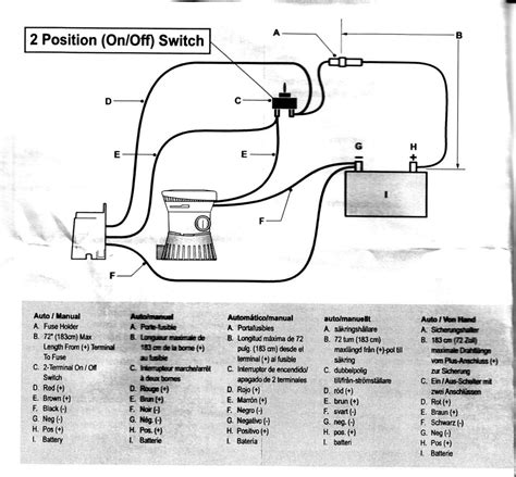 bilge with float switch wiring diagram 43 wiring
