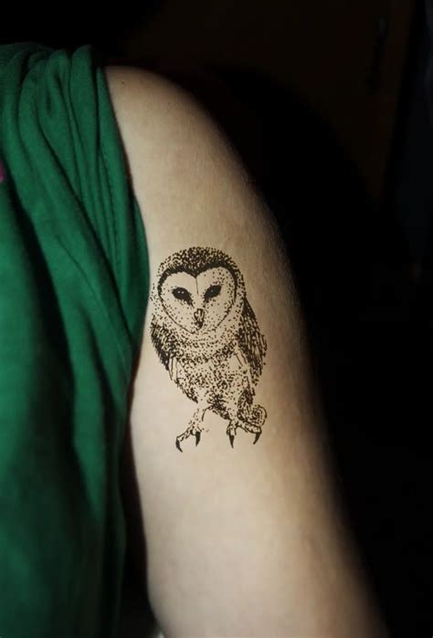 tiny owl tattoo the world s catalog of ideas