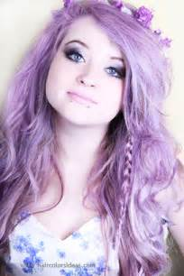 lilac color hair in lilac hair colors ideas