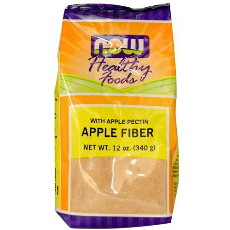 Apple Fiber Detox by Now Foods Apple Fiber 12 Oz 340 G Iherb