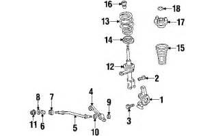 2004 Chrysler 300m Parts Parts 174 Chrysler 300m Suspension Components Oem Parts