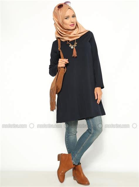Hijabi Tunik modanisa yazl箟k tunik modelleri tesett 252 r giyim kabini