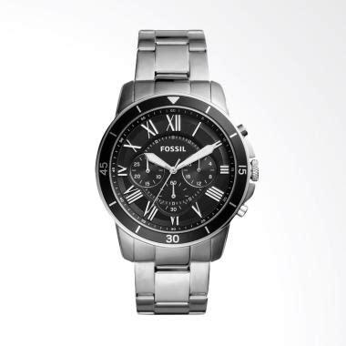 Jam Tangan Pria Fossil Fs 4788 Silver Gold Original jual fossil grant sport chronograph jam tangan pria
