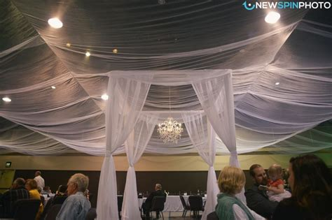 draping tulle tulle draping first dance newspin photo