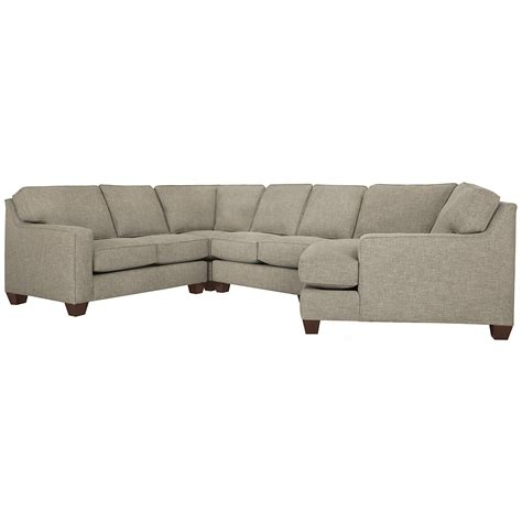 Pewter Sectional by City Furniture York Pewter Fabric Small Right Cuddler