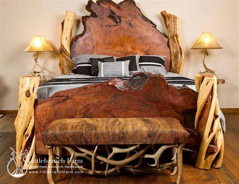 rustic bed rustic beds