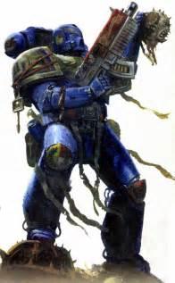 Ultramarine by Scifi Wargamers Top 5 Space Marine Artwork 2012