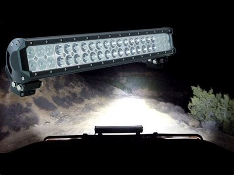 led light bars for vehicles road jeep vehicle led light bars lhus 174 cruizer