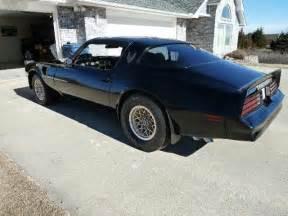 Pontiac Trans Am Bandit For Sale 1978 Pontiac Trans Am Custom Built Quot Bandit Quot For Sale