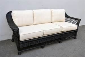 black wicker sofa black wicker sofa how to decorate outdoor wicker sofa