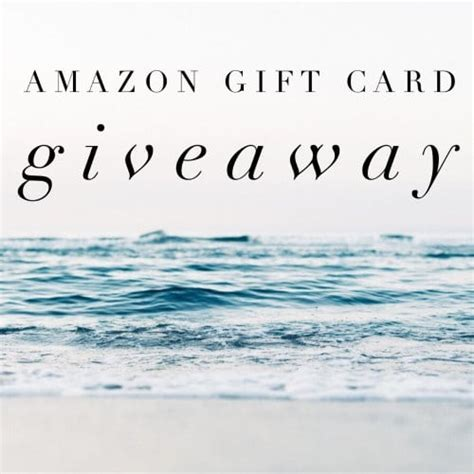 Amazon Card Giveaway - december amazon gift card giveaway ends 1 26 17 angie s