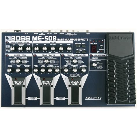Unit Me 50 B Bass me 50b bass multi fx processor power supply optional