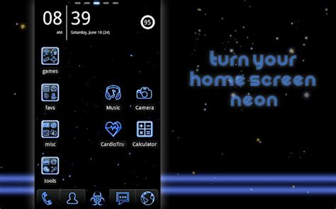 go launcher themes gallery mobile9 download neon blue go launcher theme google play softwares