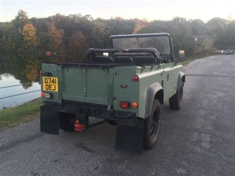 land rover defender 90 convertible land rover defender 90 galvanized chassis convertible